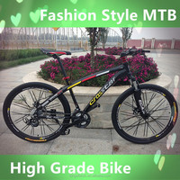 High grade aluminium alloy MTB mountain bike mountain bicycle cycle bicicletas with 21,24,27,30 speed made in China