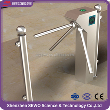 Access Control System RFID Card Reader Turnstile with Brushless Mechanism