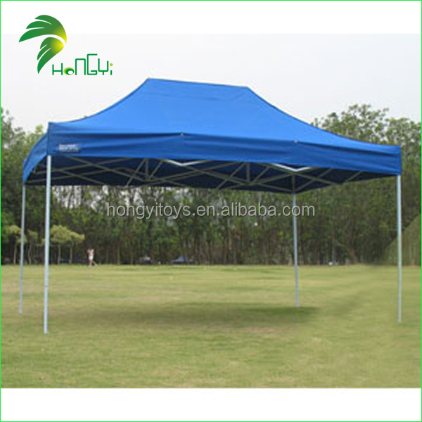 10x10 Commercial Canopy Tent With Sides / 4 Person Double Skin Pop Up Tent