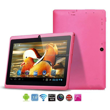 A13 Q88 Tablet Pc 7 & 512mb 4gb Allwinner Tablet Pink Factory Price