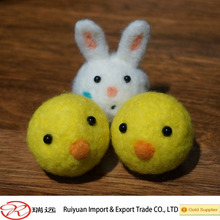 Various cute animals felted wool animals recyclable eco friendly