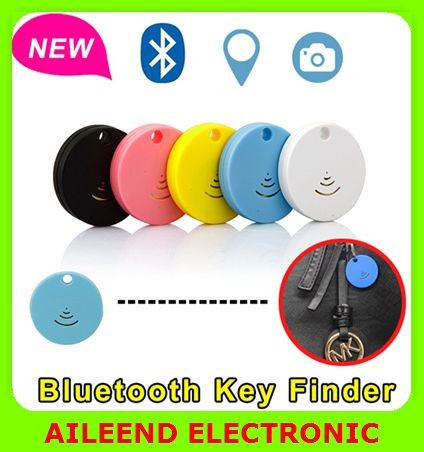 For iPhone 6 5s Samsung Bluetooth Remote Control Shutter, Wireless Bluetooth Anti Lost Alarm Smart Mini Bluetooth Keyfinder