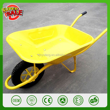 factory seal France stylepower capacity WB6400 wheelbarrow hand trolley concrete cart buggy pushcha barrow cart monocycle
