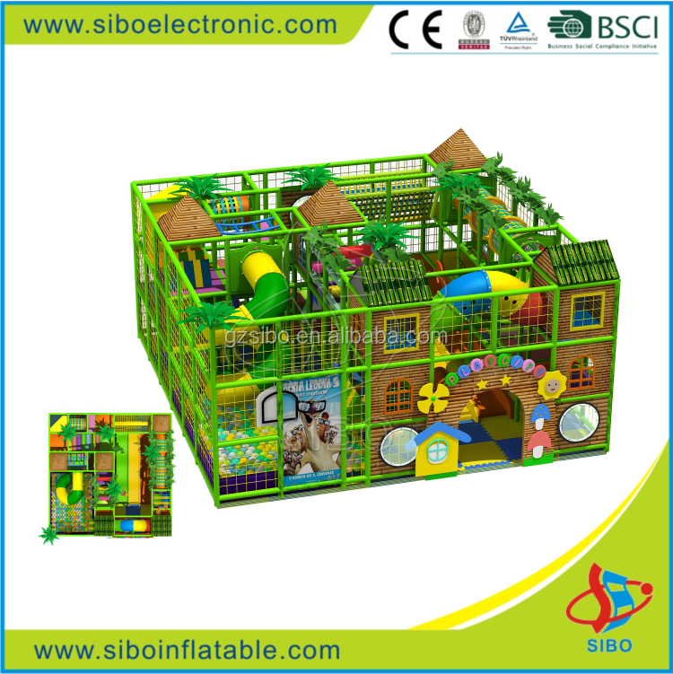 GMB-D10 kids indoor play structure soft playground for sale