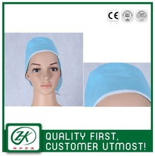 CE approved OEM acceptable surgical cap pattern for hospital and clinic
