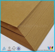 China Factory Cheap Brown Kraft Paper