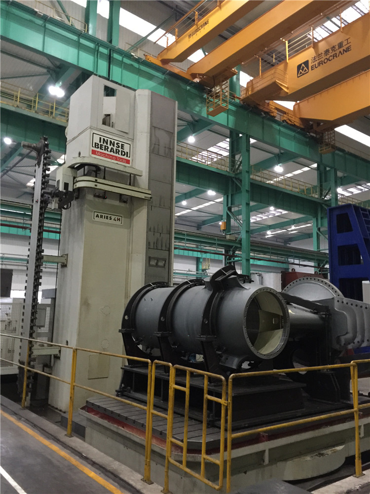 Large Horizontal Machining Center Specialized In Heavy Duty Metal Works Boring And Milling