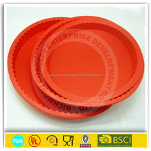 100% safe oven round shaped custom pizza pan