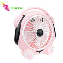 Plastic PP electric box small powerful fan
