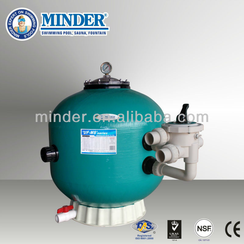 UF-MS series bead filters fish pool & swimming pool sand filter and Sand Pressure Filters