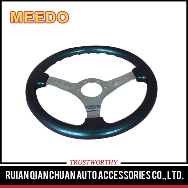 Newest design top quality ABS steering wheel tricycle
