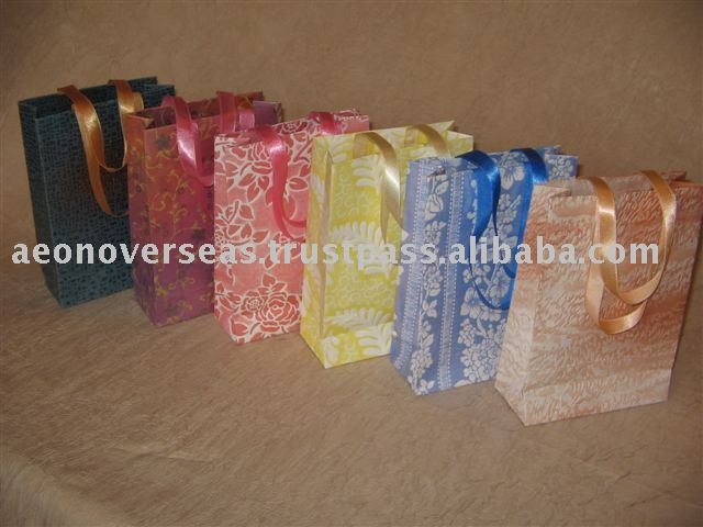 Handmade Paper Gift Packaging Bags