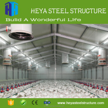 low cost prefab chicken house steel chicken house