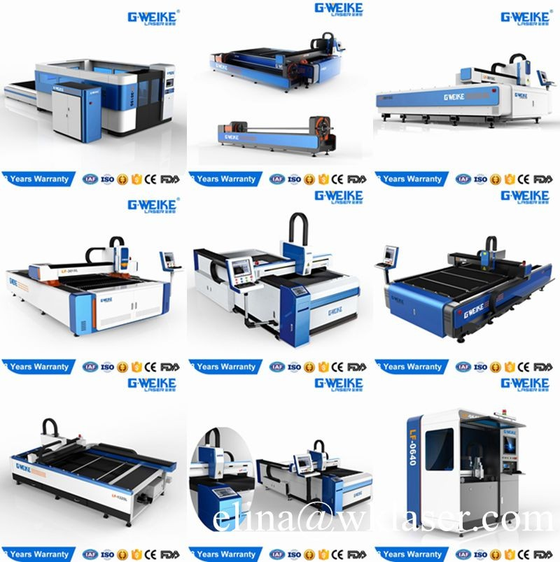 G.Weike 25mm plywood/MDF/wood/die board 300W 500W Co2 laser cutting machine price