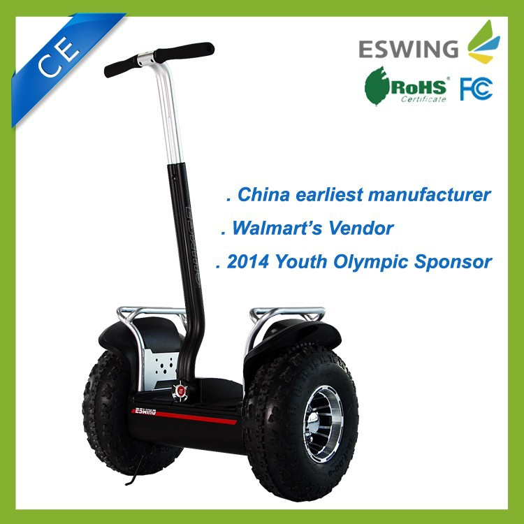 Electric balance electric scooter 2 big wheels for adults