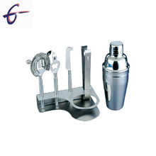 Cocktail bar set shaker, bar alat set