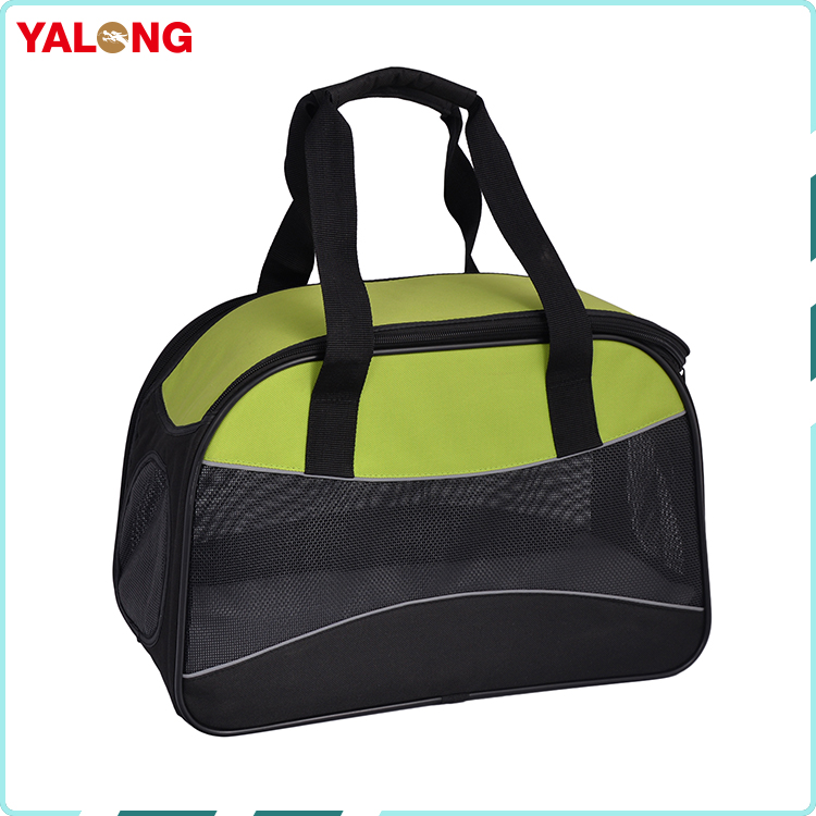 New arrival detachable pet travel carrier bag with breathable mesh window