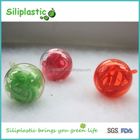 Christmas Ornaments Openable Round Small Plastic Ball String