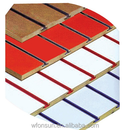 Hot sell U groove/slot plywood used for Decoration