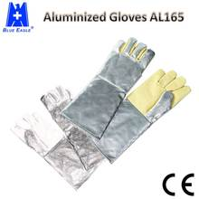 Wholesale Blue Eagle <strong>Safety</strong> AL165 Heat Resistant Aluminized Gloves