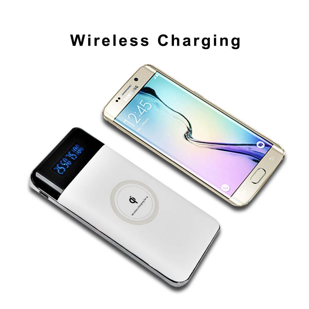 wireless charger power bank 2018 trend product in USA on alibaba power bank wireless charger