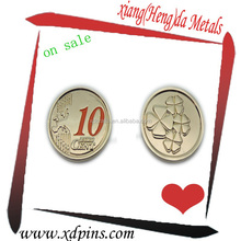 custom copy 10 cent coin