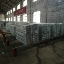 2017 low price galvanized scaffolding steel plank used for construction