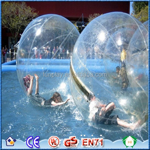 Whosesale price giant inflatable water ball for kids and inflatable water rolling ball