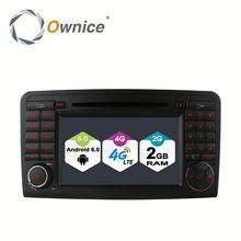 Ownice C500 Quad core android 6.0 car GPS video RADIO for benz ML300 ML350 ML450 built in RDS multimedia USB BT Wifi