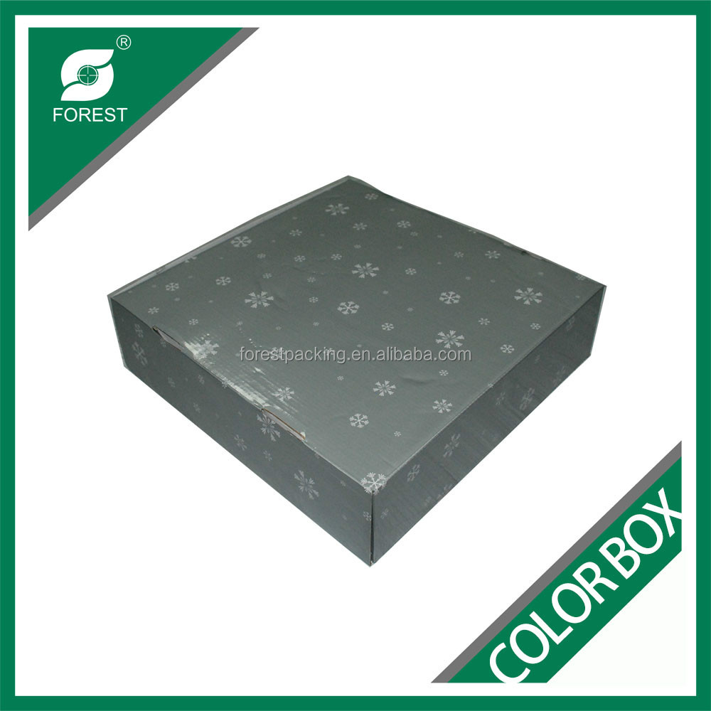 FREE SAMPLE CUSTOM COLOR PRINTED CHRISTMAS GIFTS PACKAGING BOX CORRUGATED CARDBOARD BOXES WITH DIVIDERS