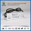 AC to dc waterproof 10w 20w 30w 50w 60w 70w 100w 120w 150w 0-10v dimming led driver