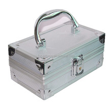 Mini carrying rifle cartridge box, short metal tool rifle gun case