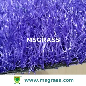 Kindergarten landscape runway running track colored turf artificial grass