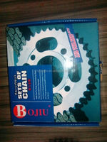 CG125 428 motorcycle chain and sprocket kit set