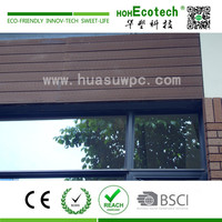 wooden wall structure wpc decorative profiles