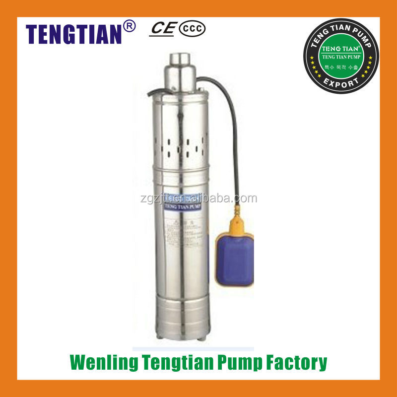 QGD deep well submersible pump 3 inch