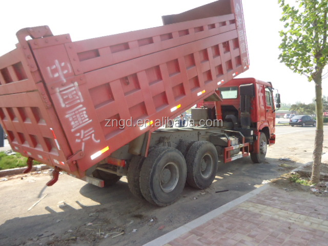 resonable price used good condition DUMP TRUCK Howo 25t original spare parts for cheap sale