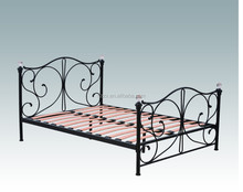 Pictures of New Design Antique Style Double & Single Metal Bed
