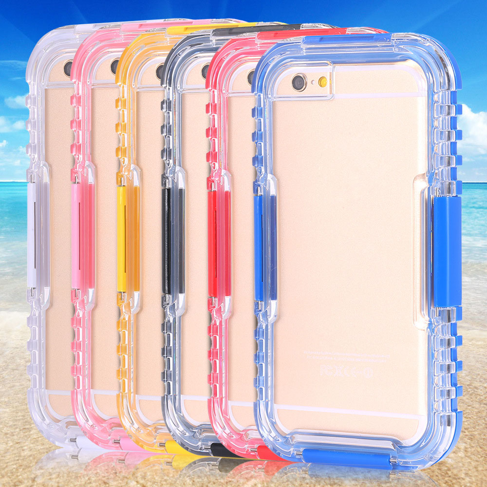 China Supplier Waterproof Silicone Mobile Phone Case For iPhone 6 6s