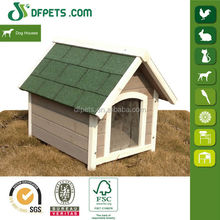 DFPets DFD014 Large Size Dog Kennel With Asphalt Roof