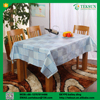 Non-toxic durable home decor curly willow silicone table cloth