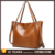 On sale 10% OFF orange pu leather tote bags personalized with strap for teachers