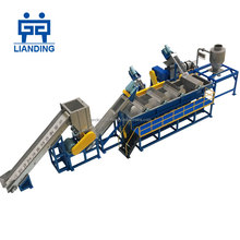 Plastic pp woven bags waste washing recycling plant machinery machines sale