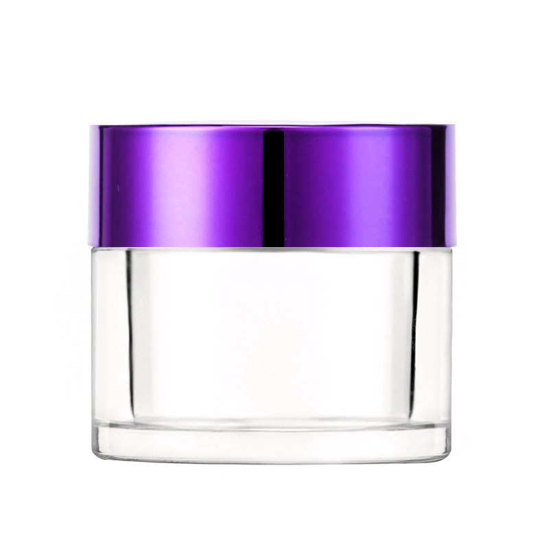2Oz Dipping Powder Nail Container With Purple Cap