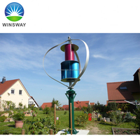 High Efficiceny 3kW Residential Vertical Axis Maglev Wind Turbine Wind Generator