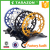 China wholesale aluminum alloy 7075 dirt bike rear sprocket for motorcycle