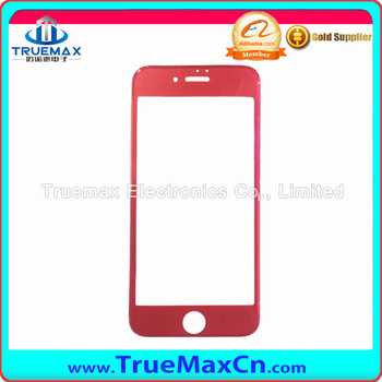 Red 3d Tempered Glass Screen Protector For Iphone 7/7plus in stock with Factory Price
