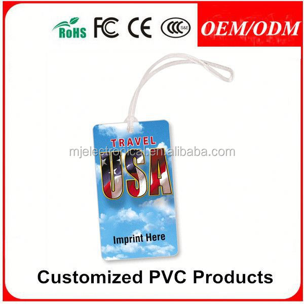 Customized PVC tag,2014 cheap hot sale custom logo pvc luggage tag 2014,gift for festival