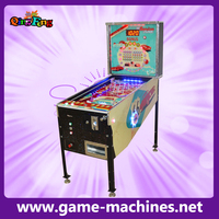 Attraction bingo pinball gambling equipment coin operated pinball machine
