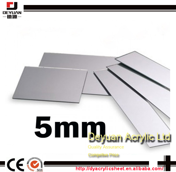 How to make plastic mirrors sizes customized hot sale